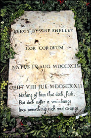 shelley's tomb