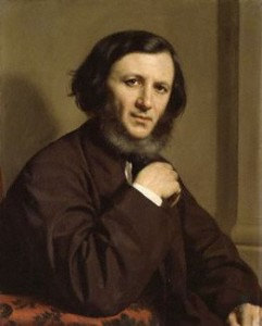 NPG 1898,Robert Browning,by Michele Gordigiani