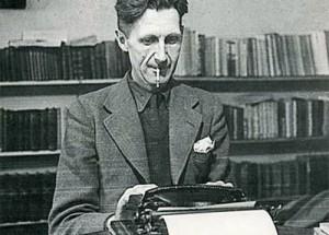 George-Orwell-at-typewriter