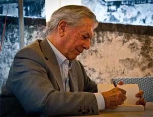 MarioVargasLlosa signing