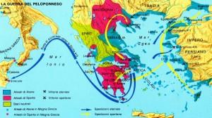 carta guerra peloponneso
